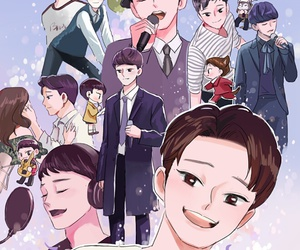 exo, Chen, and fanart image
