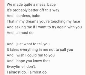 break up, Lyrics, and poems image