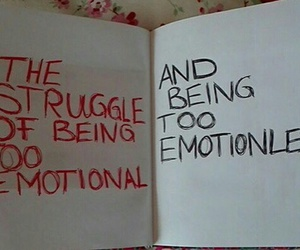 emotional, grunge, and quote image
