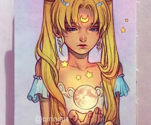 sailor moon, art, and anime image