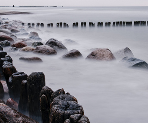Baltic Sea, filter, and stone image