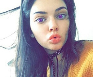 kendall jenner, snapchat, and model image