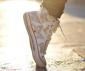 converse, diy, and studs image