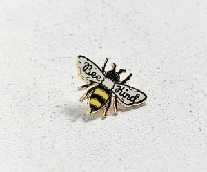 bee and pin image