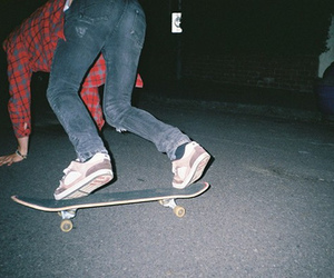 boy, skate, and indie image