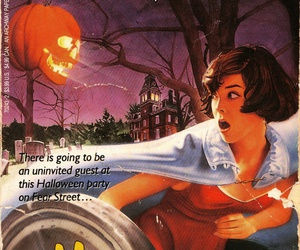 book, Halloween, and r.l. stine image