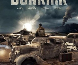 dunkirk, movie, and Harry Styles image