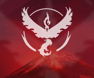 pokemon go, pokemon, and red image