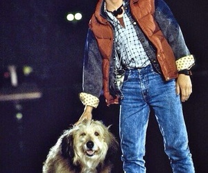 Back to the Future, marty mcfly, and dog image