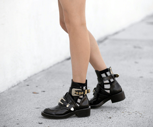 abo, Balenciaga, and buckle boots image