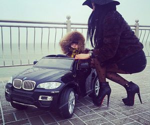 car, baby, and bmw image