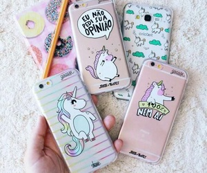 unicorn, case, and tumblr image