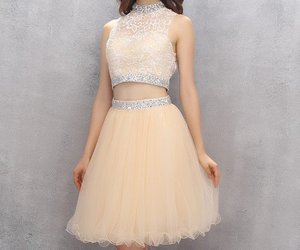 short homecoming dress, pretty homecoming dress, and classy homecoming dress image