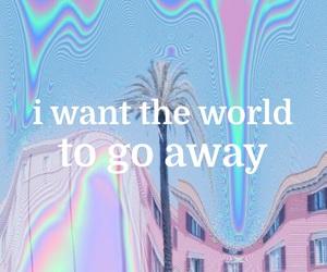 aesthetic, lonely, and Lyrics image