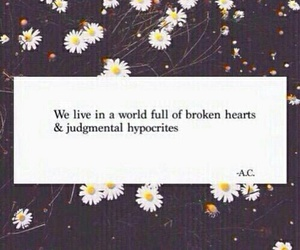 beautiful, flowers, and qoute image