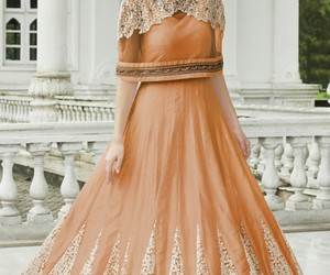 anarkali suits, gowns, and fancy gowns image