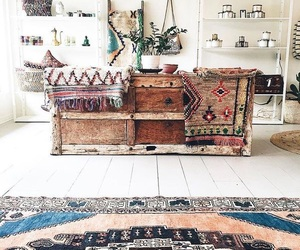 bohemian, decor, and bedroom image