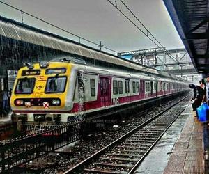 mumbai, heavy rain, and beautiful city image