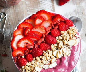 cool, fresas, and cute image