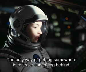quotes, movie, and interstellar image