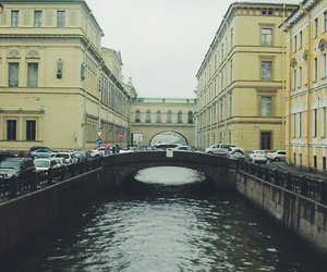 beauty, city, and rain image
