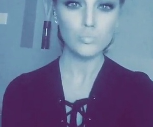 beautiful, duck face, and perrie edwards image