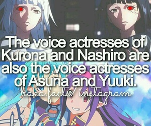 anime, sword art online, and tokyo ghoul image