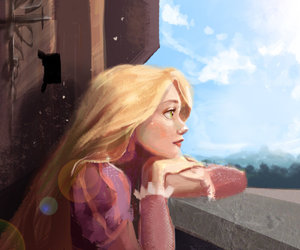 disney, illustration, and princess image