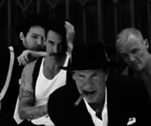 anthony kiedis, red hot chili peppers, and michael balzary image