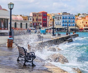 crete, Island, and places image