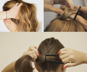 hair bands, women hair bands, and rubber bands for hair image