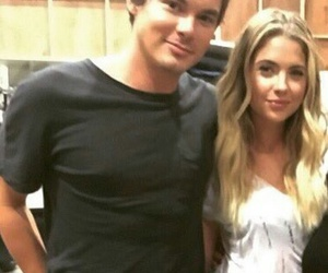 ashley benson, hanna marin, and tyler blackburn image
