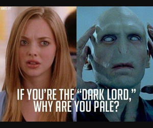 mean girls, funny, and harry potter image