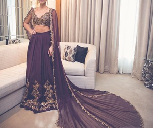 desi, bride, and fashion image