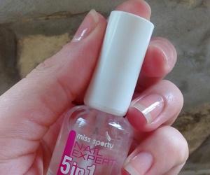 nail polish, nails, and miss sporty image