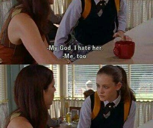 gilmore girls, funny, and lorelai image