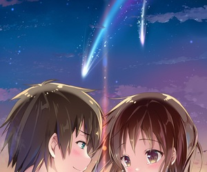anime and kimi no na wa image