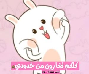 bunny, pretty, and ارنب image