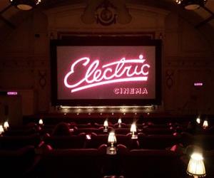light, cinema, and neon image