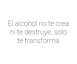 alcohol, frases, and tumblr image
