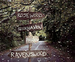 pll, pretty little liars, and ravenswood image