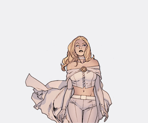 emma frost, Marvel, and mutant image