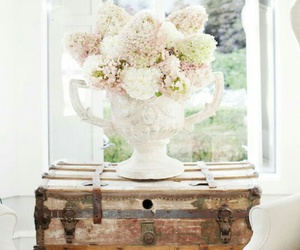 rustic, white chairs, and farmhouse style image