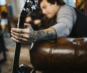 frank iero, andthe, and patience image