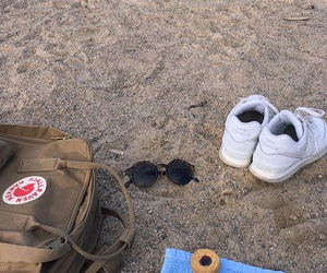 bag, beach, and glasses image