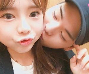 asian, kiss, and korea image