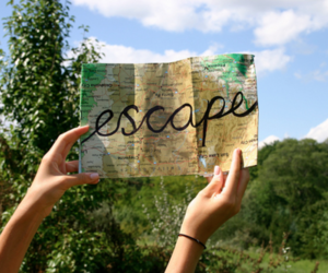 escape, map, and quote image