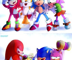 sonic boom and Sonic the hedgehog image