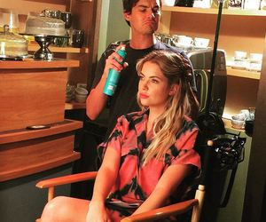 ashley benson, tyler blackburn, and pll image