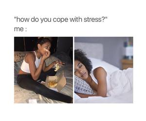 stress and funny image